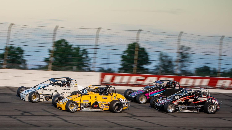 racing at Indy