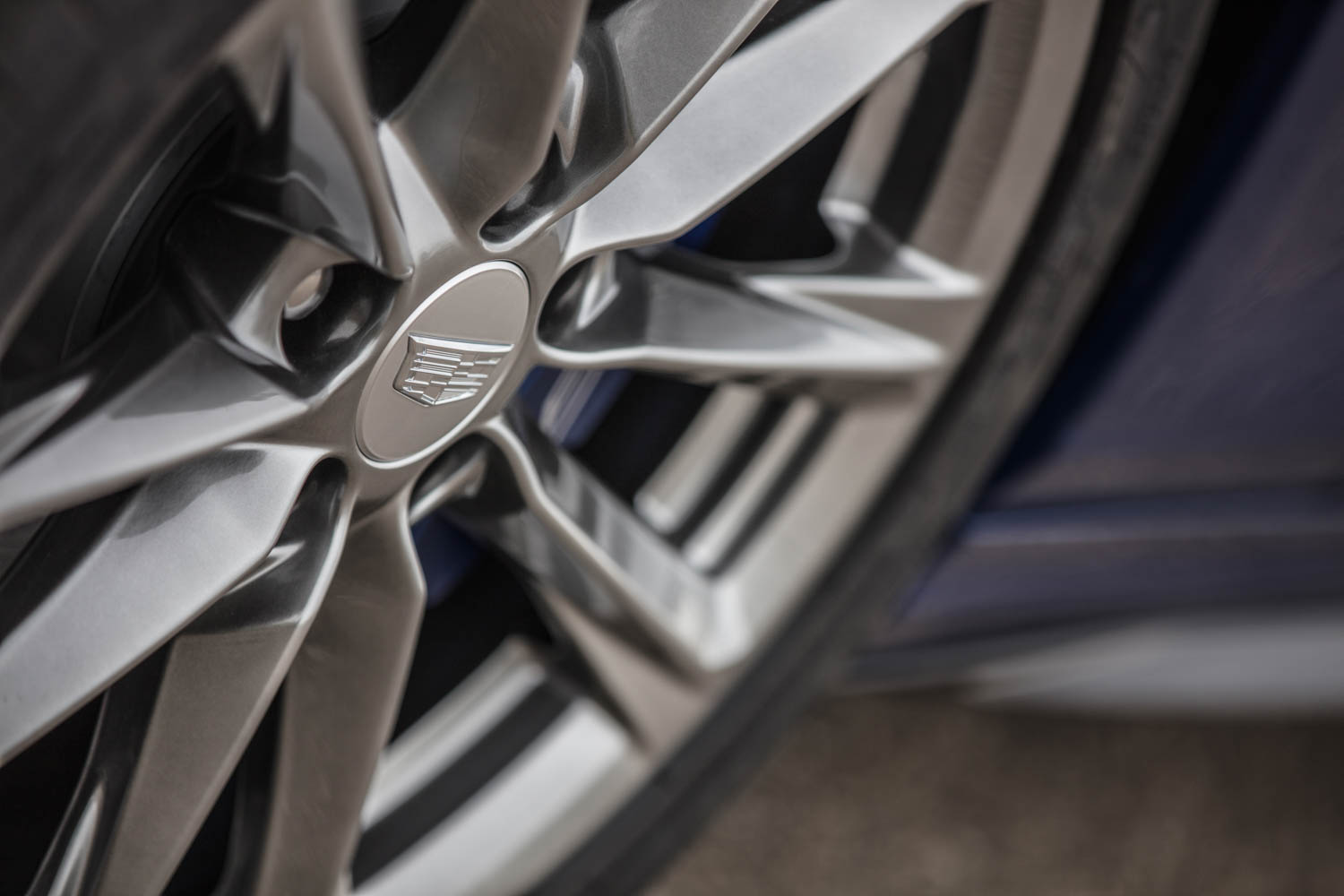 2020 Cadillac CT4-V wheel