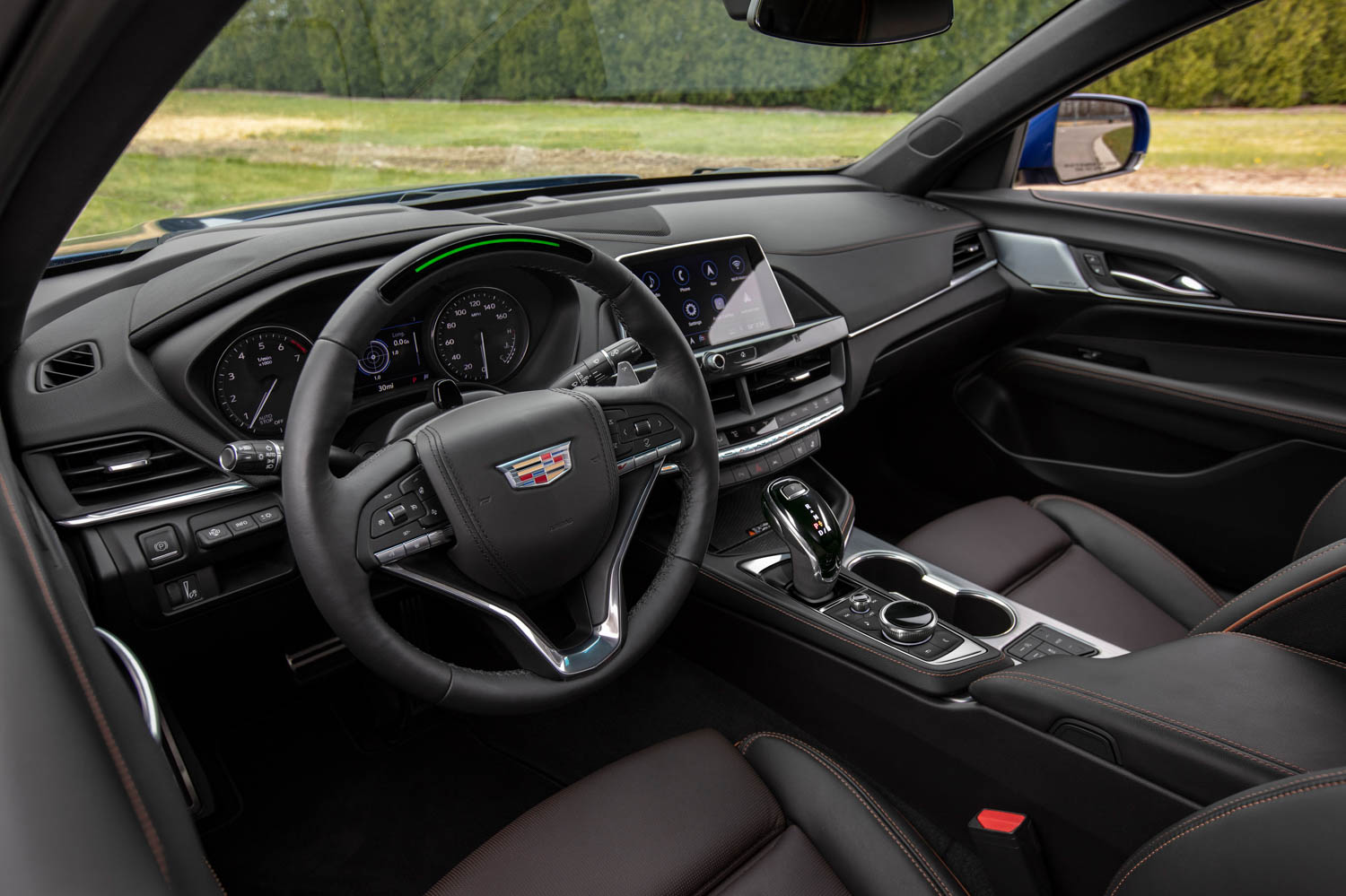 2020 Cadillac CT4-V interior