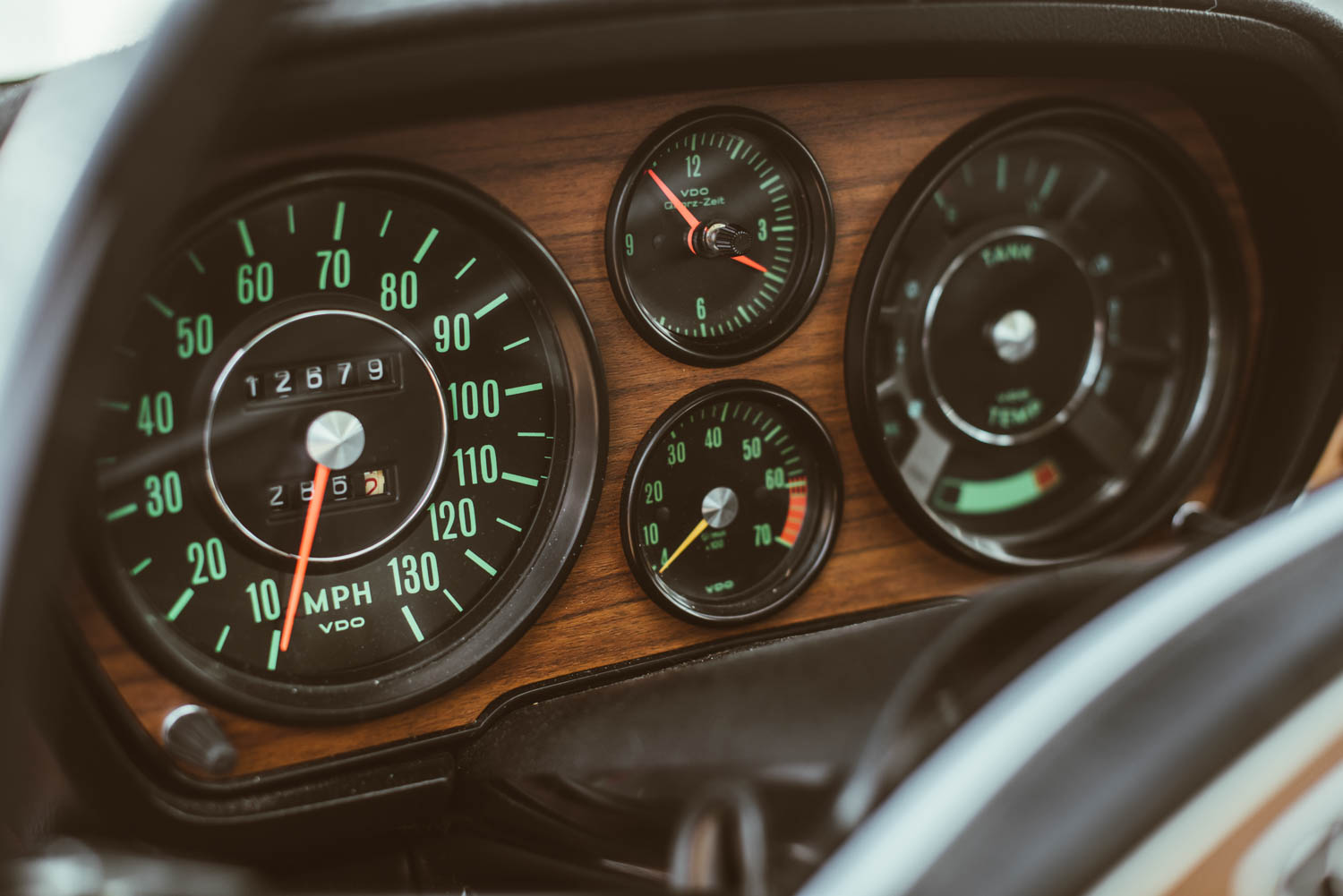 Kettler Motorsport gauges