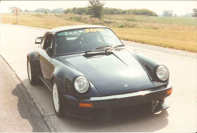 Porsche 911 Turbo front 3/4