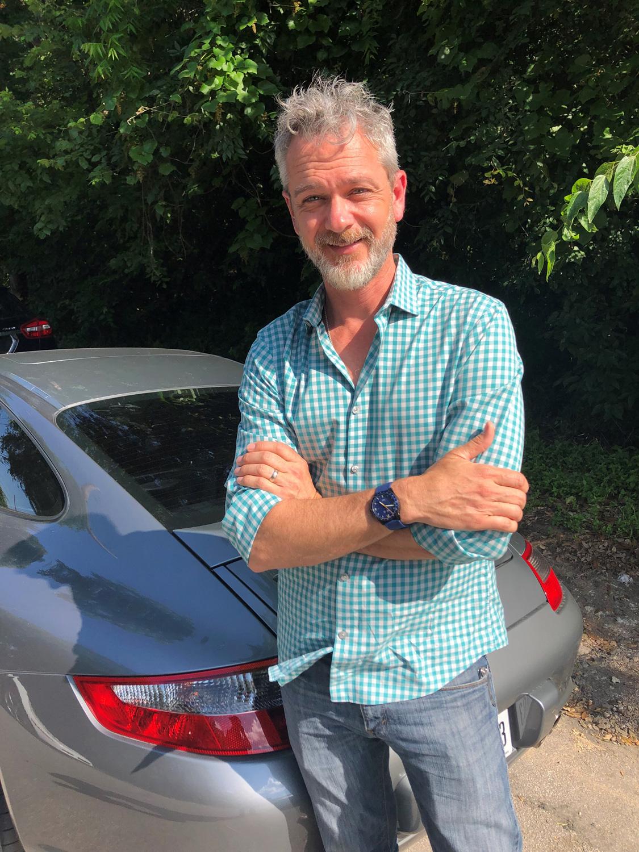 Steve Lee of DuFrane watches