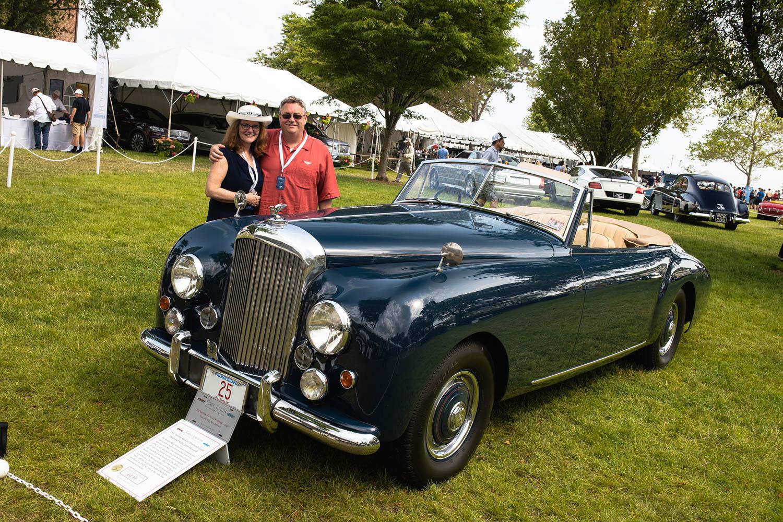 1950 Bentley Mark VI Drophead Coachbuilt by Graber