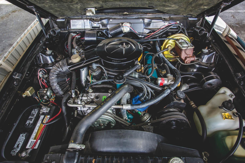 1979 AMC AMX engine