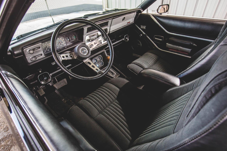 1979 AMC AMX interior