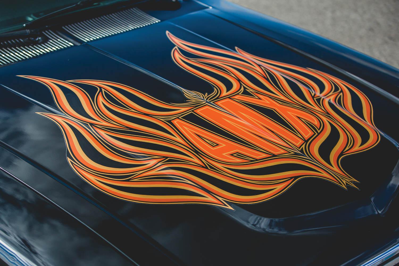1979 AMC AMX hood