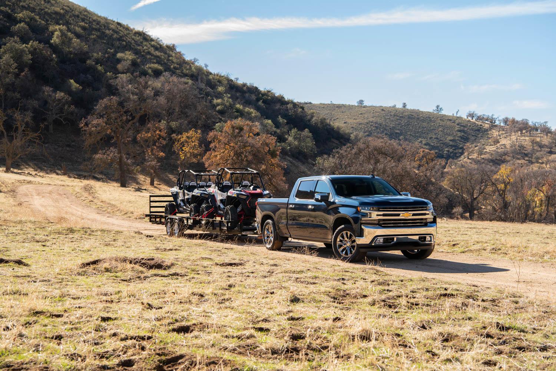 2020 Chevrolet Silverado Diesel towing
