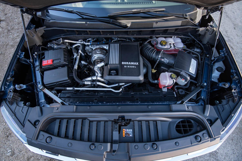 2020 Chevrolet Silverado Diesel engine
