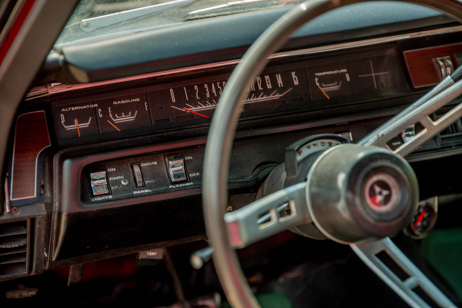 1969 Plymouth GTX gauges