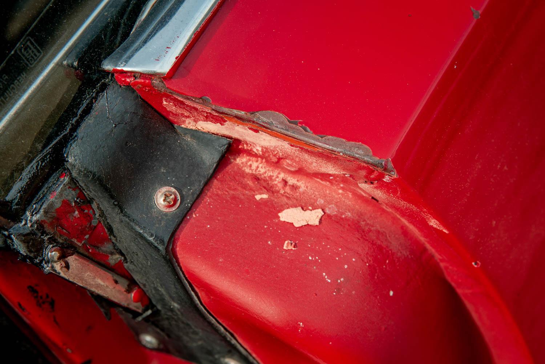 1969 Plymouth GTX door still
