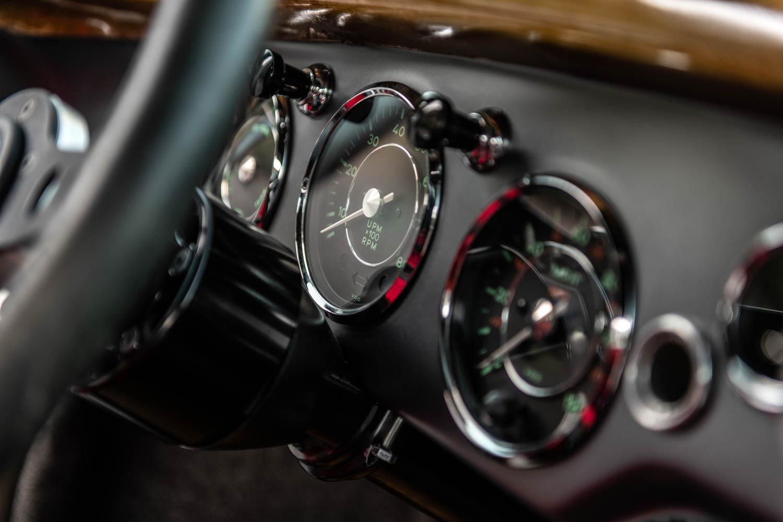 Emory Motorsports Porsche 356 RSR gauges