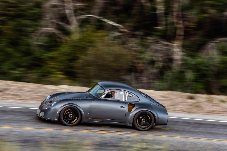 Emory Motorsports Porsche 356 RSR driving profile