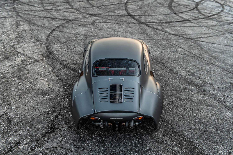 Emory Motorsports Porsche 356 RSR rear overhead