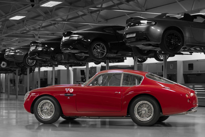 Aston Martin DB4 GT Zagato Continuation profile