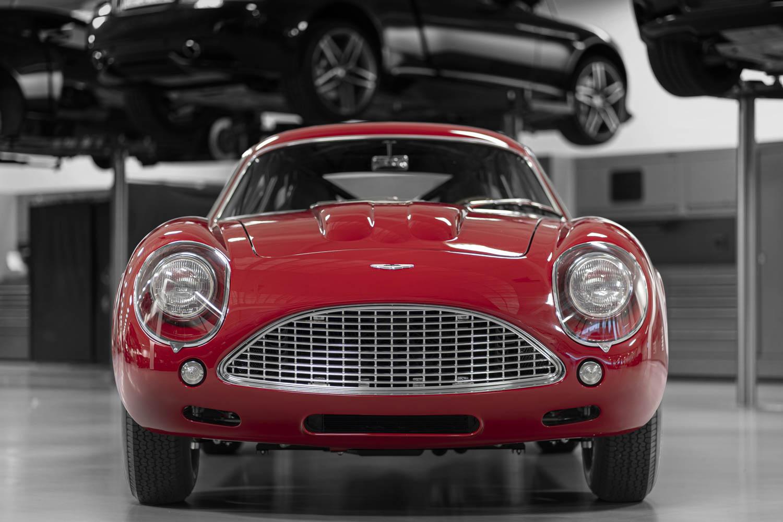Aston Martin DB4 GT Zagato Continuation front