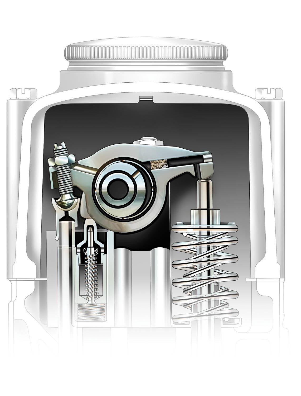 Cadillac V-16 Engine Drawing