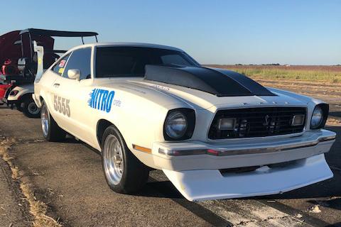 Mustang II Texas Mile 5555