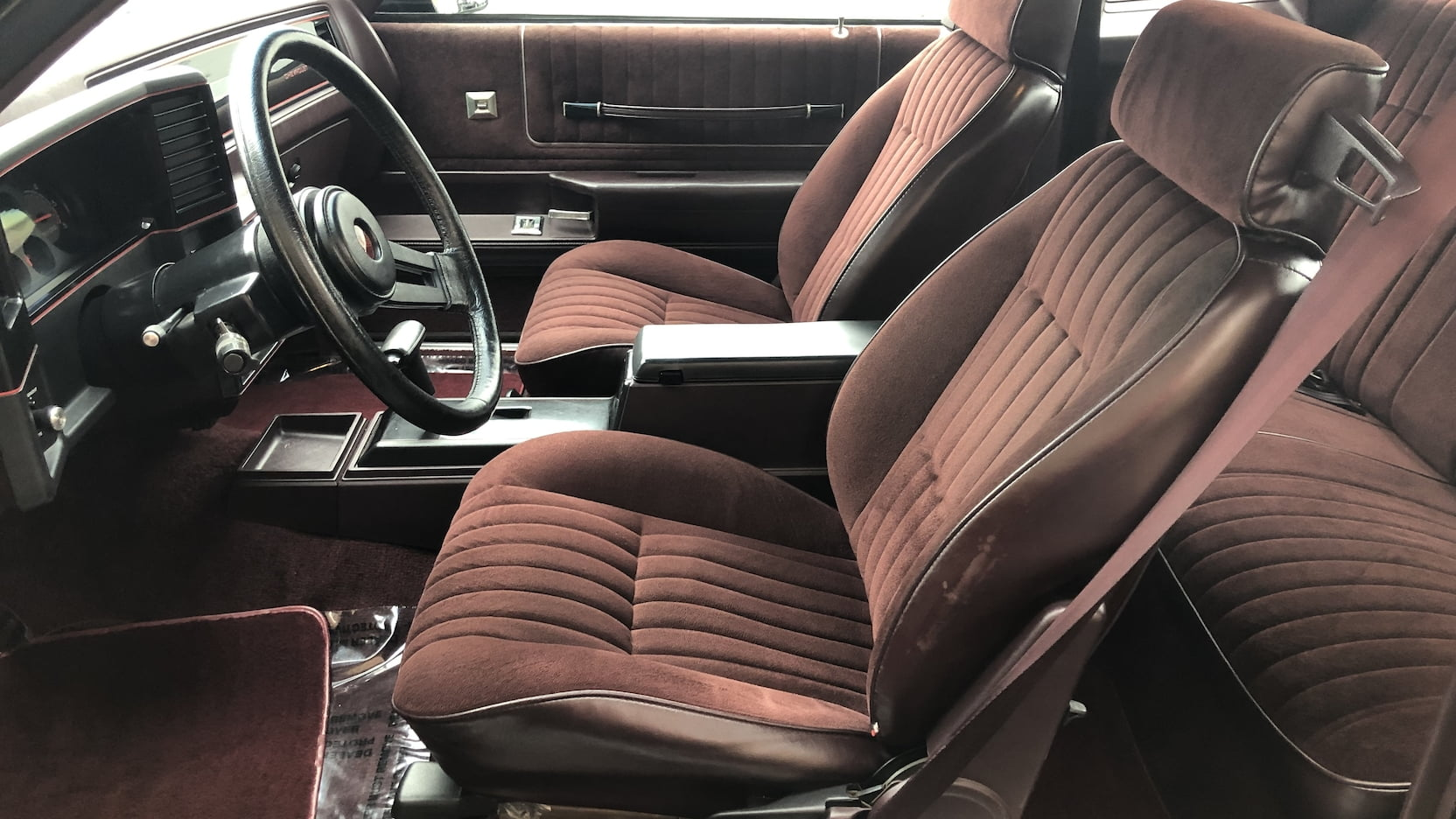 1986 Chevrolet Monte Carlo SS interior