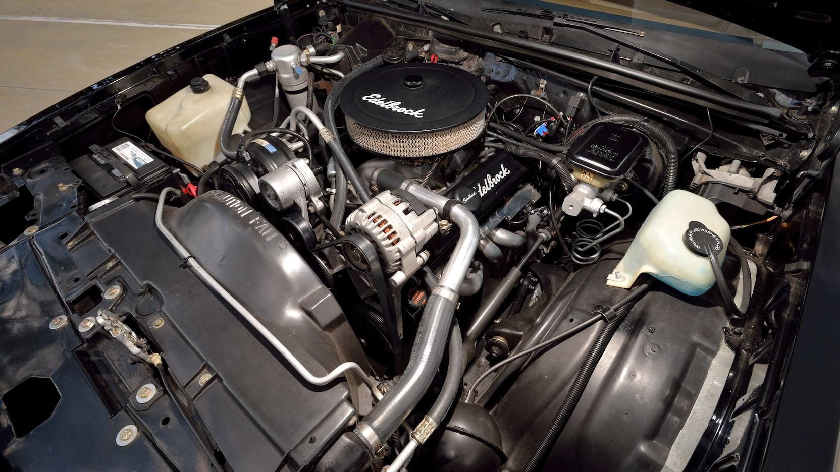 1988 Chevrolet Monte Carlo SS engine