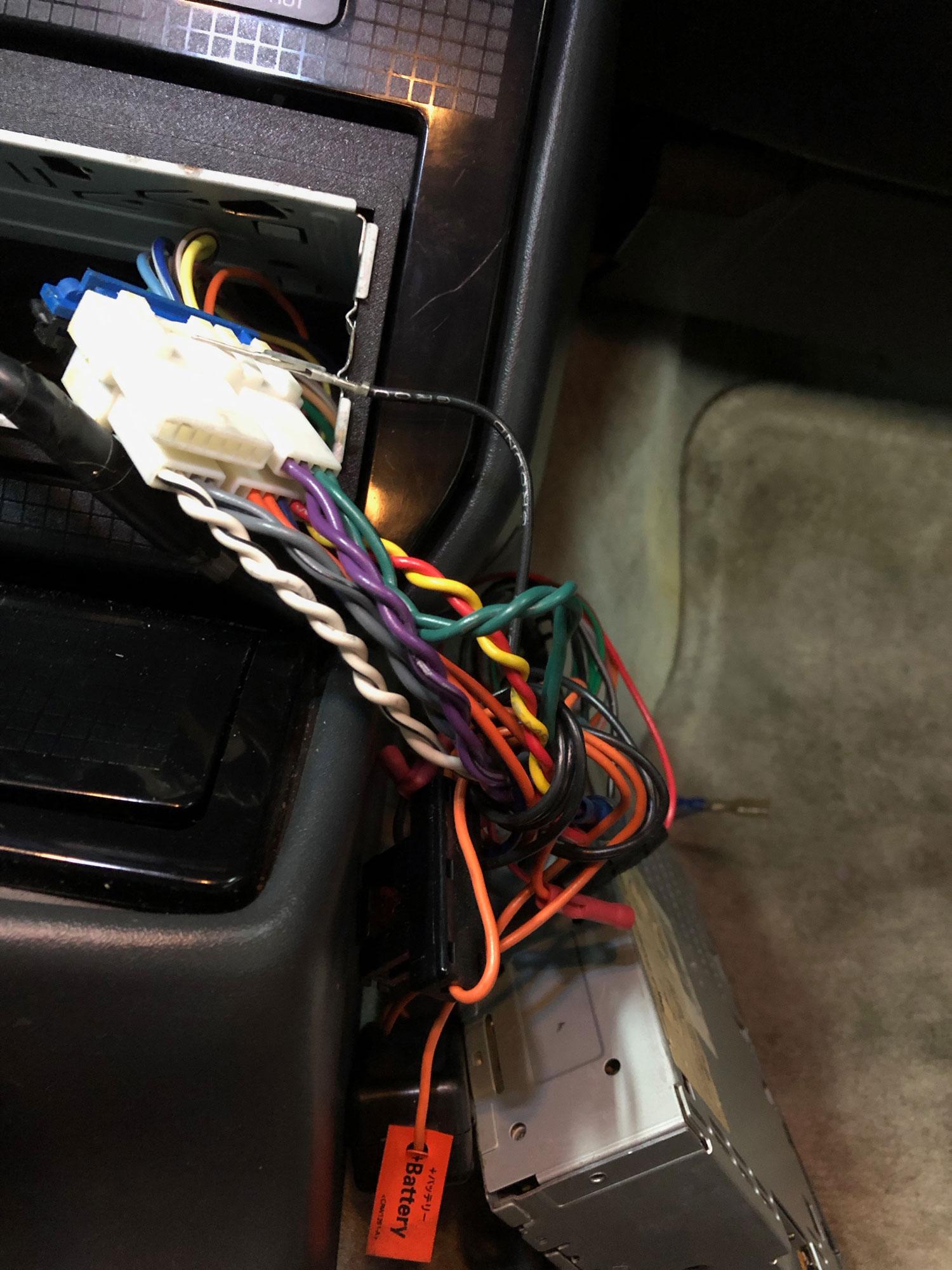 Firebird Radio Wiring