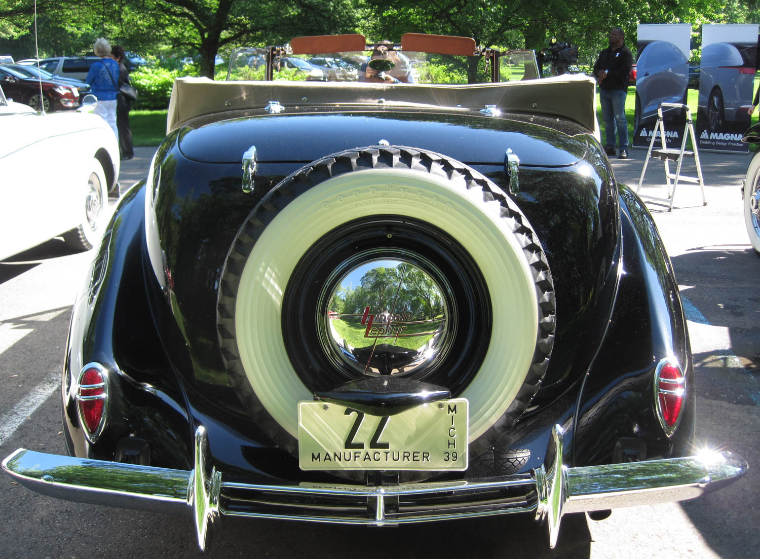 1939 Lincoln Continental prototype rear