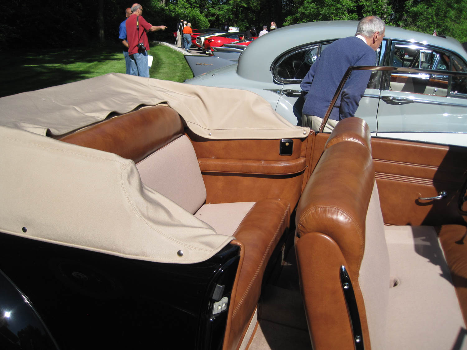 1939 Lincoln Continental prototype seat