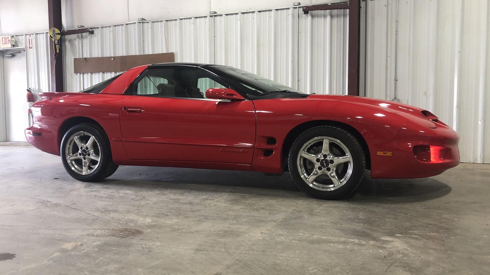 red 2000 Pontiac Firebird