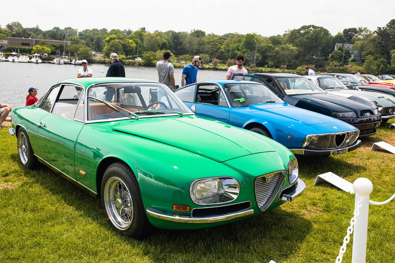 1965 Alfa Romeo 2600 Zagato Coupe
