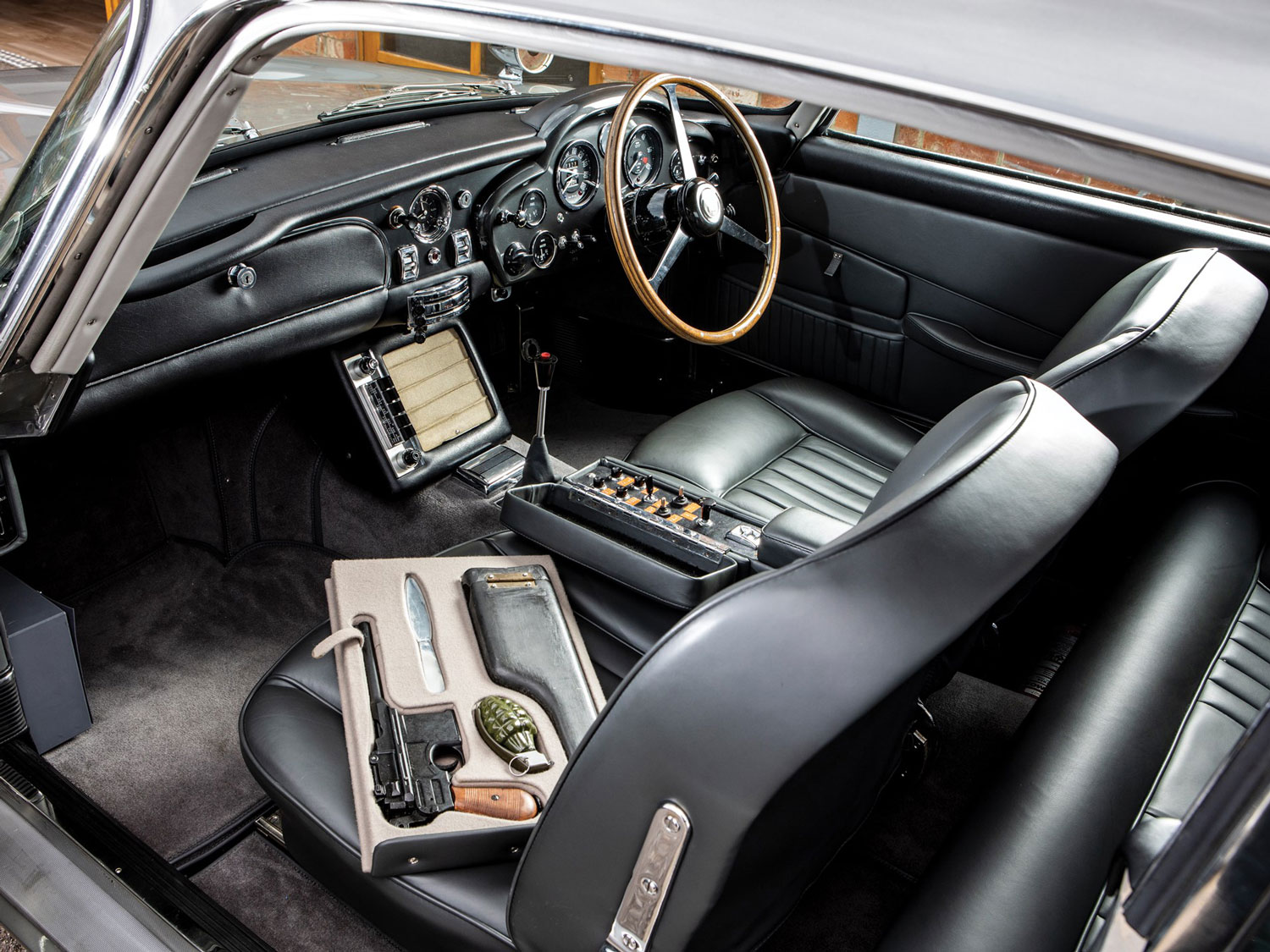 1965 Aston Martin DB5 'Bond Car' Interior