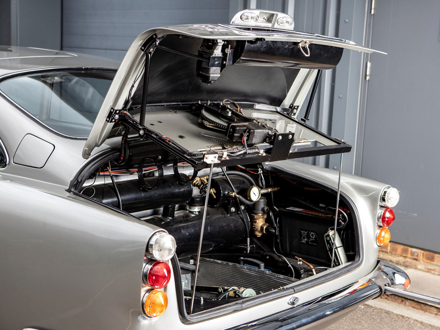 1965 Aston Martin DB5 'Bond Car' Trunk