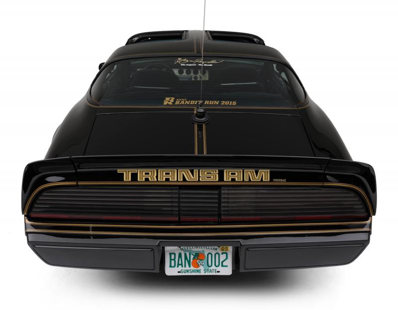 Burt Reynolds 1979 Pontiac Firebird Trans Am rear