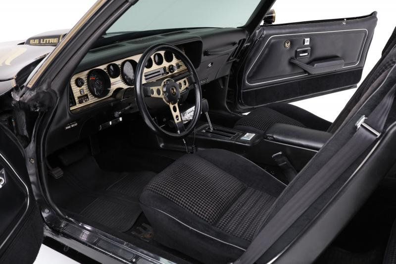 1979 Pontiac Firebird Trans Am interior
