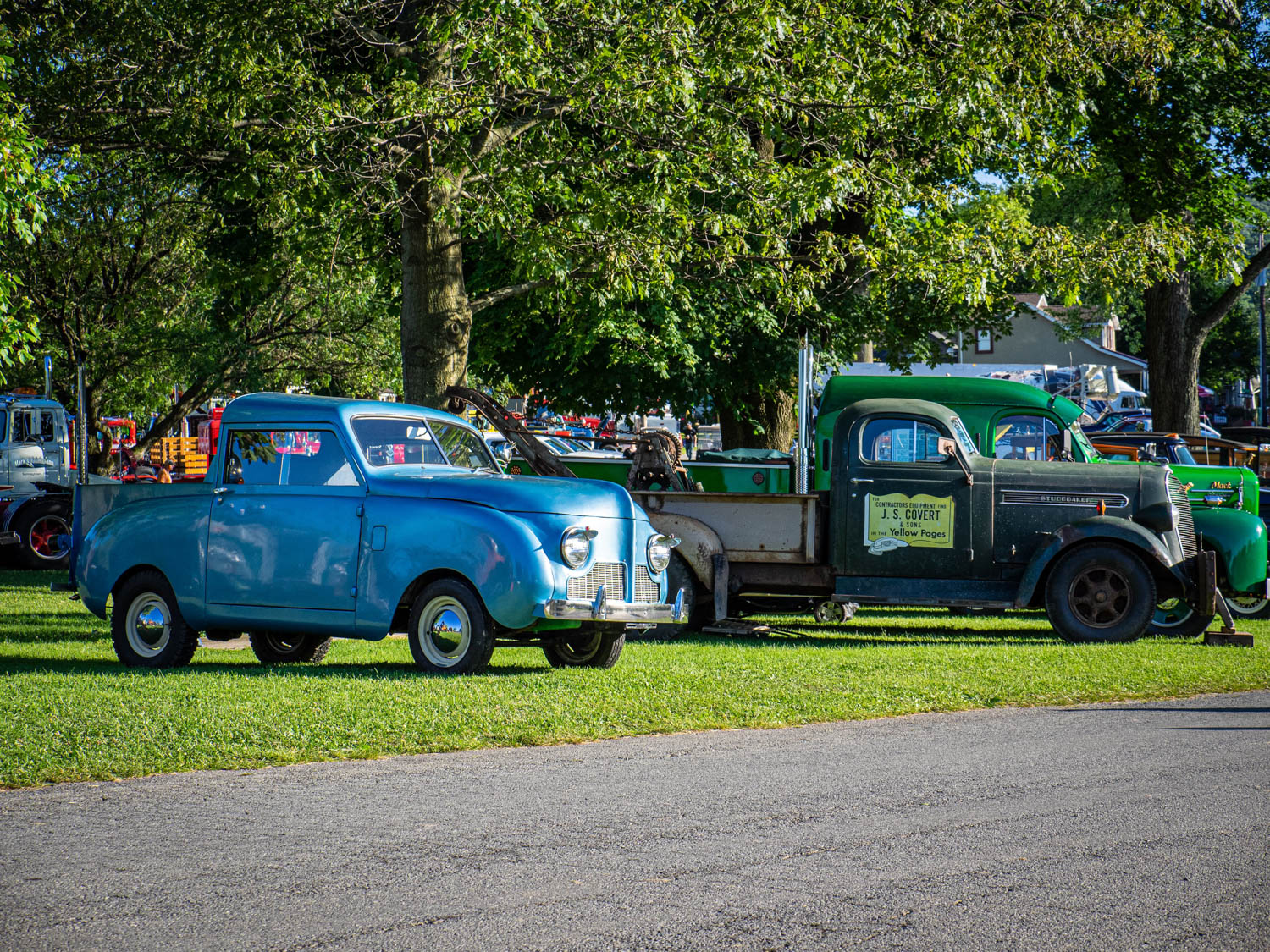 Not everything in Macungie was massive. This tiny Crosley pickup was the smallest truck in attendance.