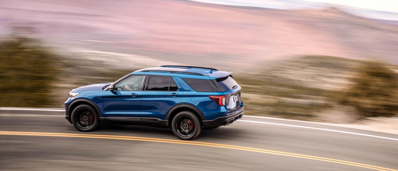 2020 Ford Explorer ST profile