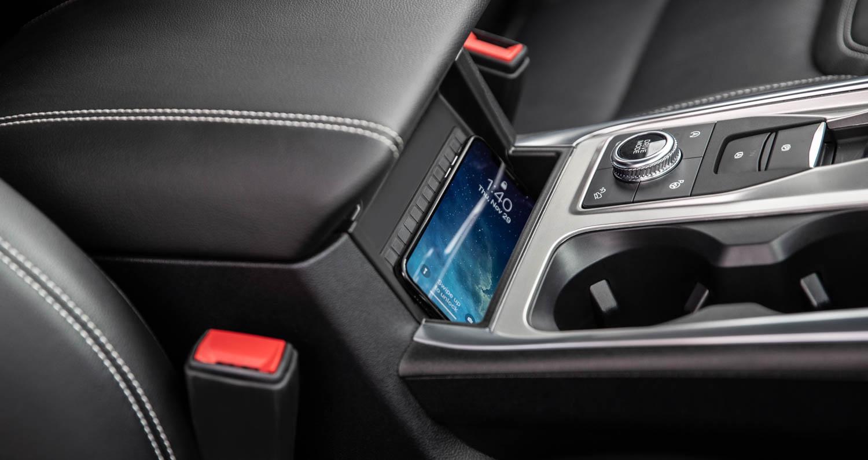 2020 Ford Explorer ST phone holder
