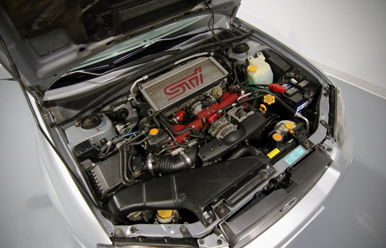 2004 Subaru Impreza WRX STI engine