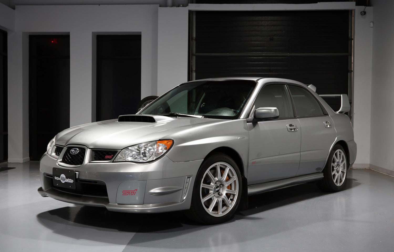 Silver 2007 Subaru Impreza WRX STI