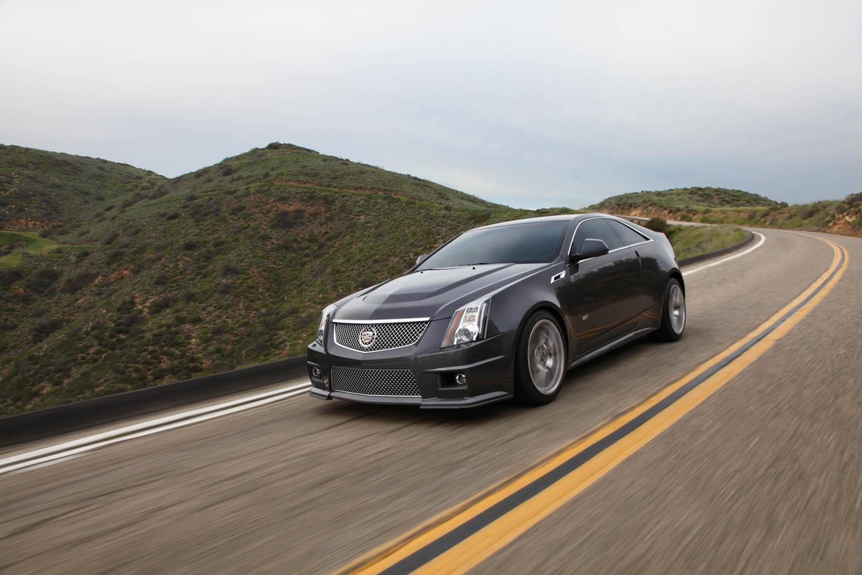 2013 Cadillac CTS-V front 3/4