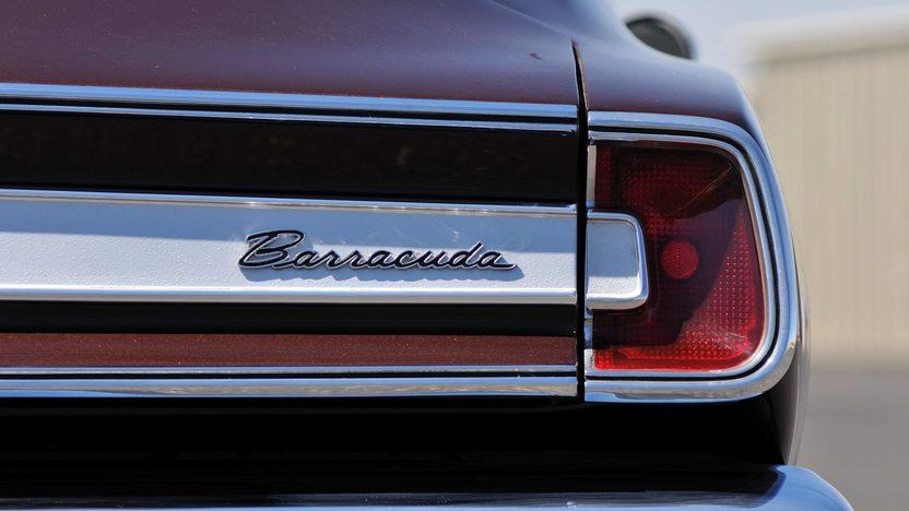 1967 Plymouth Barracuda Detail