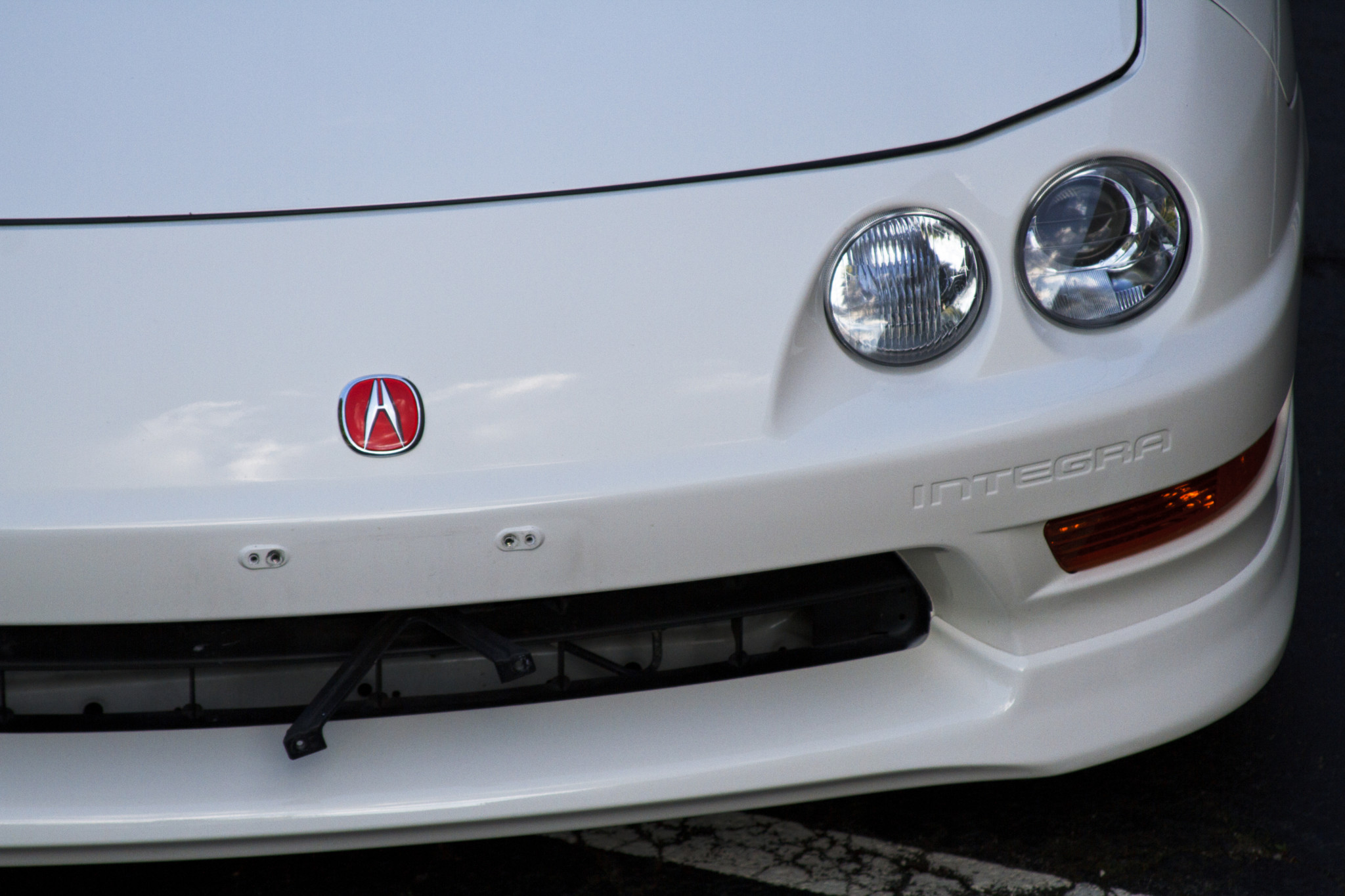 1998 Acura Integra Type R front grille