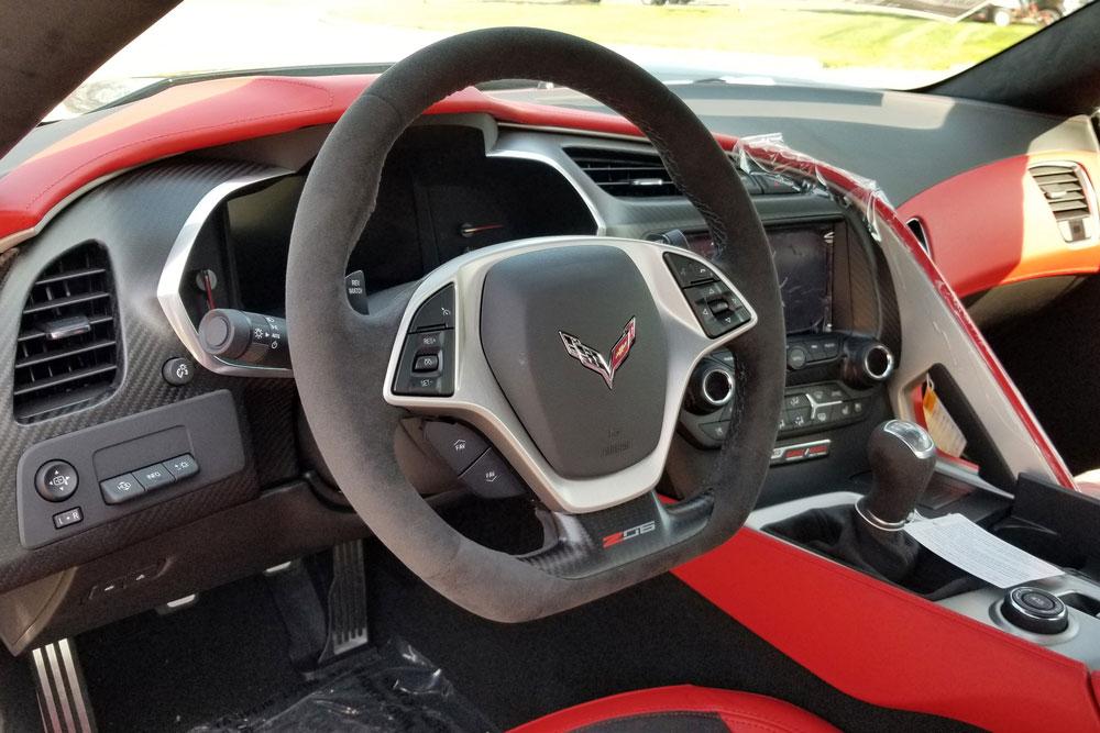 2019 Chevrolet C7 Corvette Z06 Interior