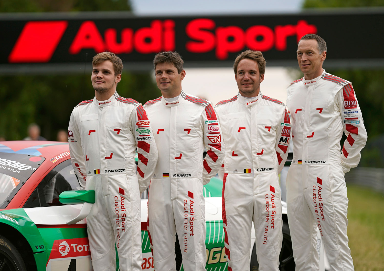 Dries Vanthoor, Pierre Kaffer, Frédéric Vervisch, Frank Stippler