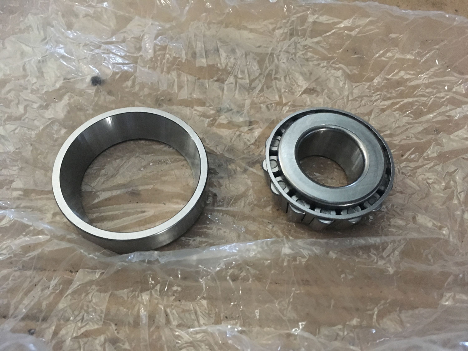 new bearing and race