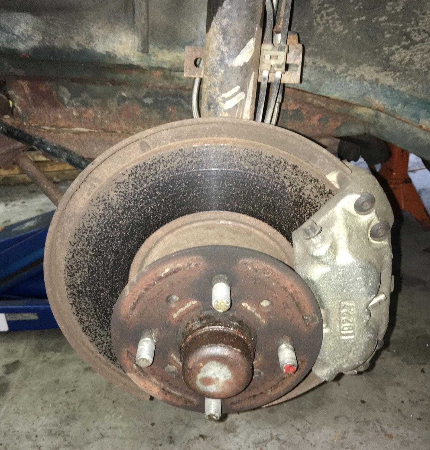 hub requiring hub removal