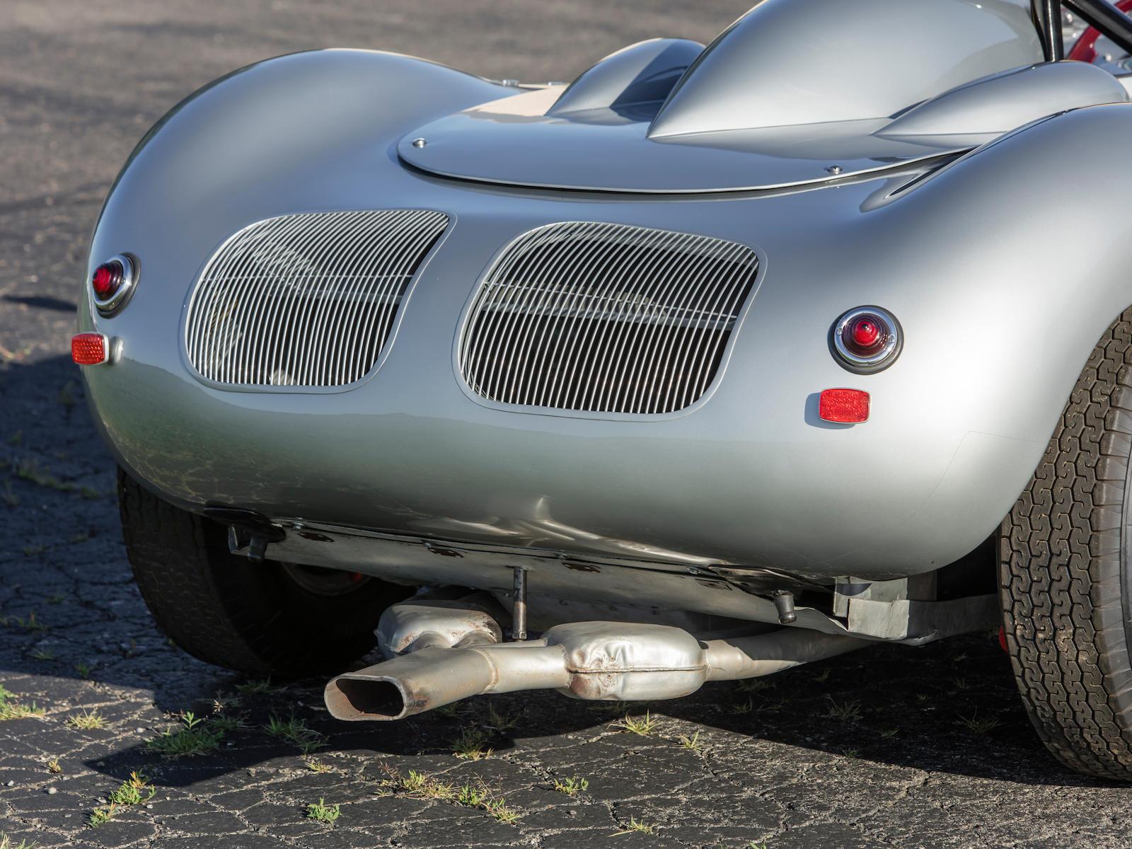 1959 Porsche 718 RSK exhaust