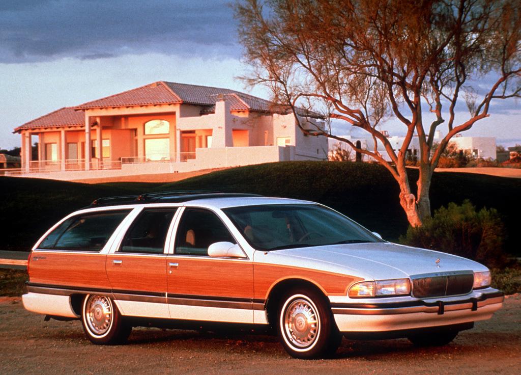 1991 Buick Roadmaster front 3/4