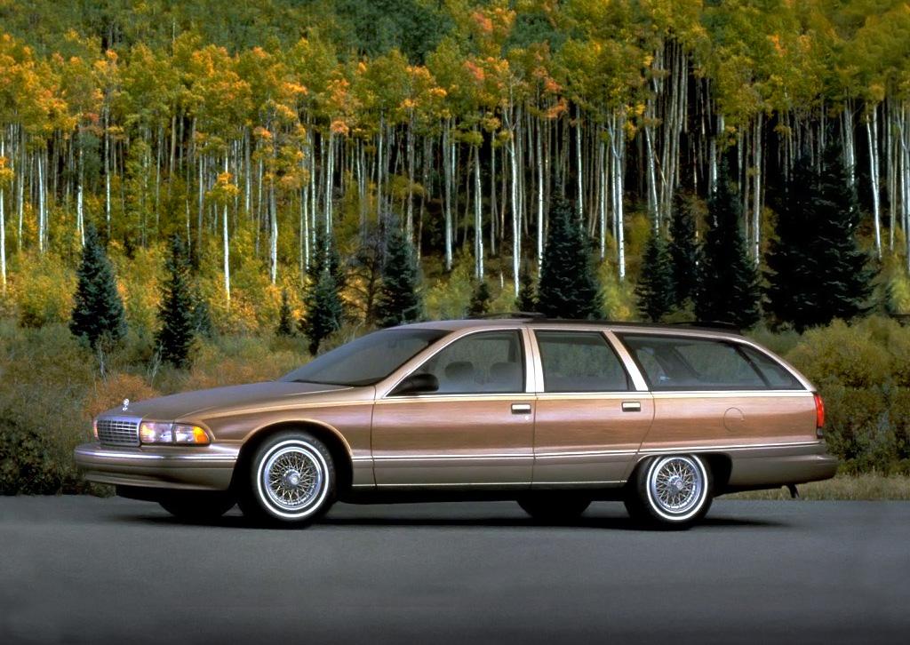 1991 Chevrolet Caprice profile