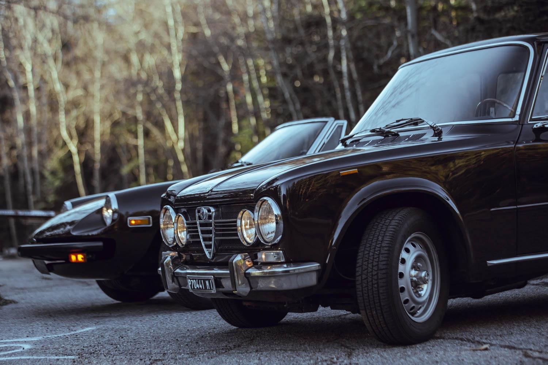 1972 Alfa Romeo Giuila Super and 1978 Alfa Romeo Spider