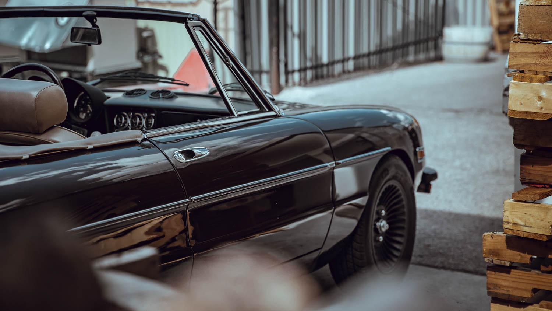 1978 Alfa Romeo Spider rear profile