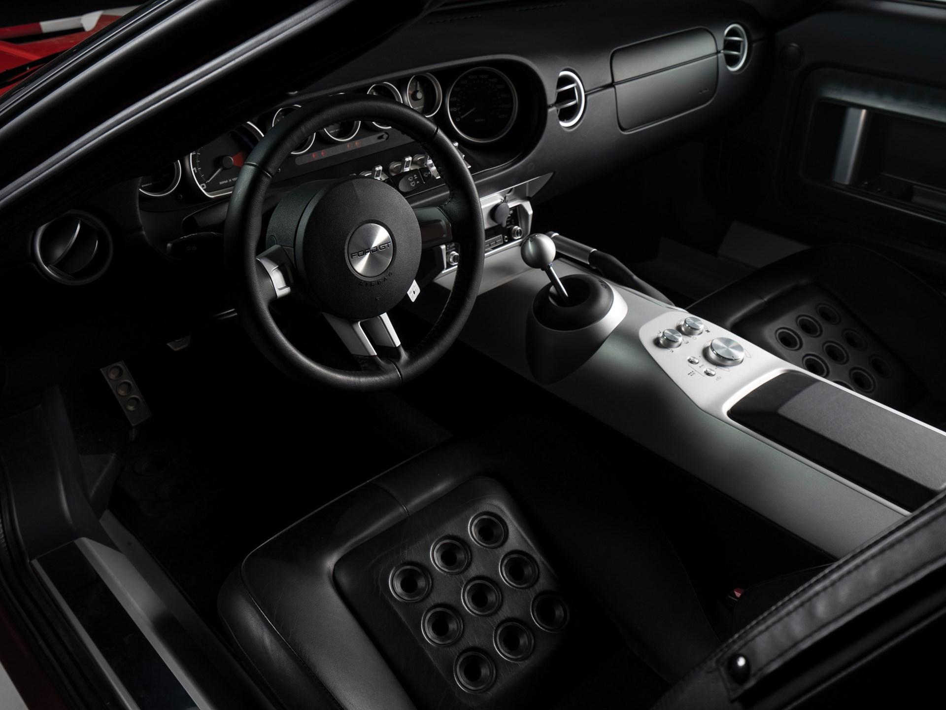 2005 Ford GT Interior